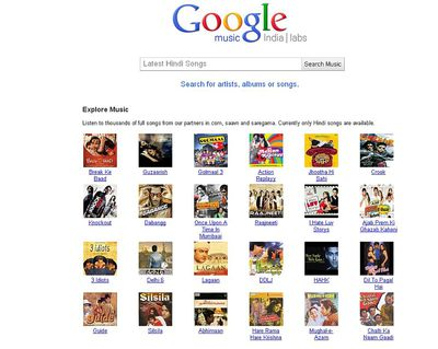Google Music se estrena en India