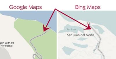 Incidente fronterizo entre Costa Rica y Nicaragua por culpa de Google Maps