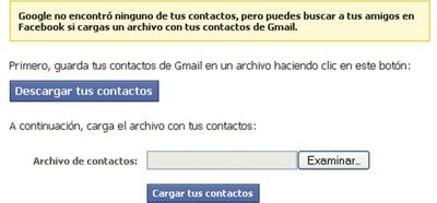 Google avisa contra la exportación de contactos a Facebook