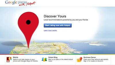 Google se apunta a la localización social con HotPot