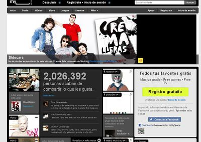 MySpace se rinde a Facebook