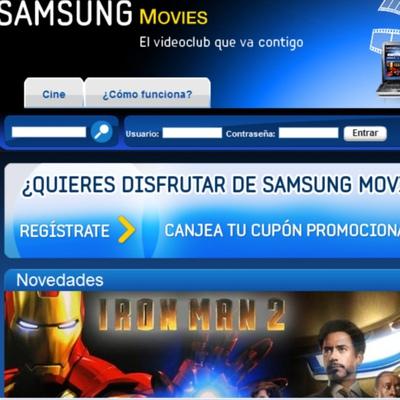 Samsung abre en España un videoclub para sus pantallas