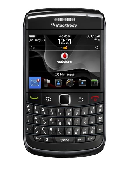 Nuevo BlackBerry para Vodafone
