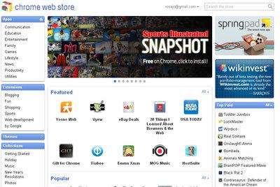 ¿Qué hay en la tienda de aplicaciones para Chrome?