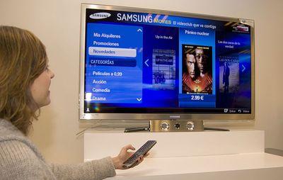 Samsung Movies, un videoclub en cuatro pantallas