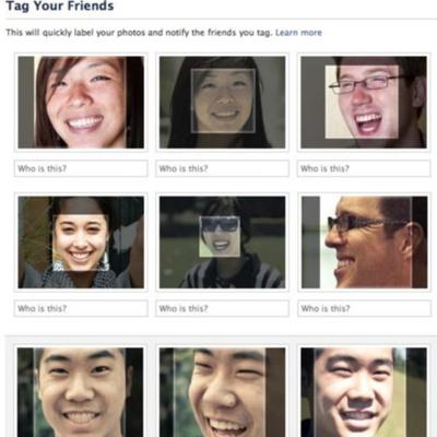 Facebook ofrecerá el reconocimiento facial de fotos