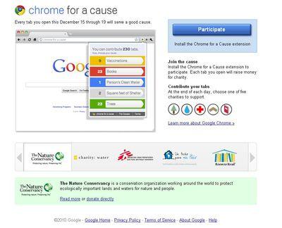 Chrome, solidario por Navidad