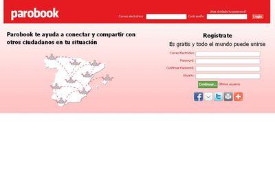Parobook, una red social para parados