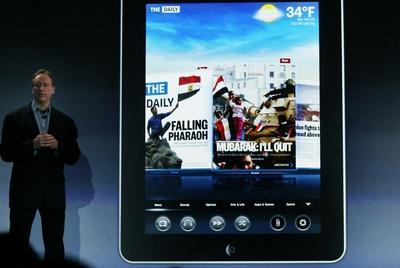 Murdoch presenta su diario solo para iPad