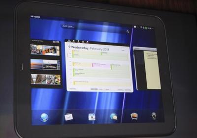 HP presenta su tableta con el sistema operativo de Palm, Web OS
