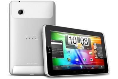 HTC presenta su primera tableta Android