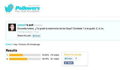 Encuestas instantáneas con Pollowers