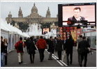 La feria supera la cifra récord de 60.000 visitantes en Barcelona