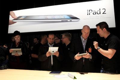 Primer contacto con iPad 2
