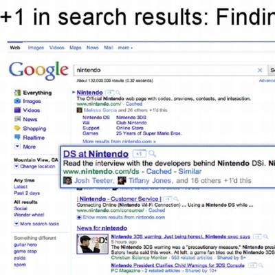 El buscador de Google se hace social