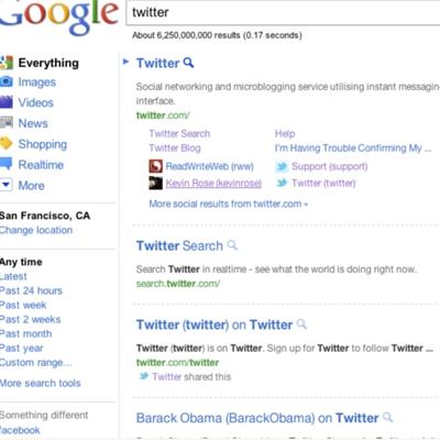 Google prueba una nueva página de resultados