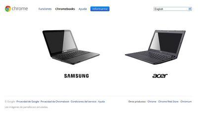 Chromebook, el portátil de Google, llega a España el 15 de junio