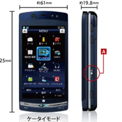 Fujitsu lanza un teléfono con Symbian y Windows 7