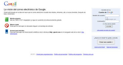 Google denuncia un intento de espionaje proveniente de China