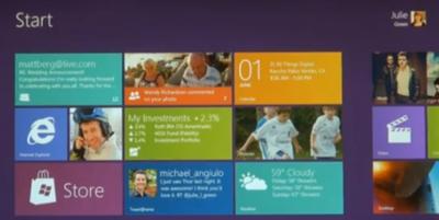 Microsoft presenta los primeros esbozos de Windows 8