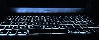 MacBook Air regresará al teclado retroiluminado