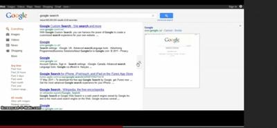 Google prueba la presentación en una sola página de todos los resultados