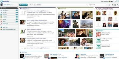 MultiMini agrupa y gestiona el contenido de distintas redes sociales