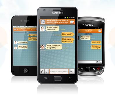 Samsung lanza su propio 'messenger' móvil