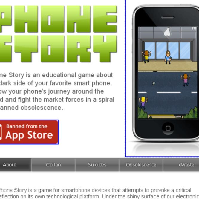 Apple retira un juego que critica el iPhone