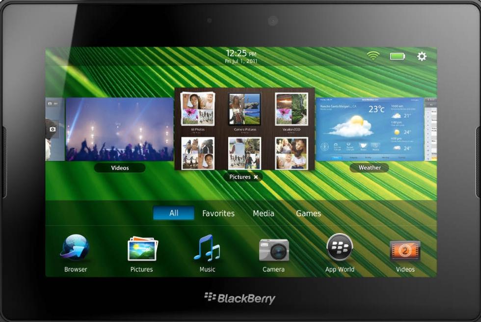 El fracaso de la tableta de RIM compromete a Blackberry