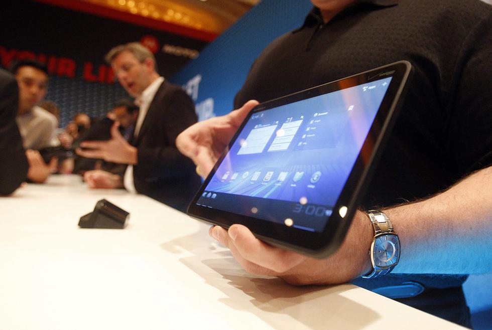 Xoom, una tableta potente que llega con retraso