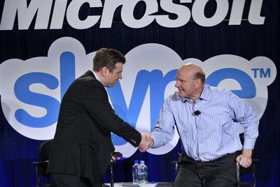 Microsoft crece en telefonía móvil comprando Skype
