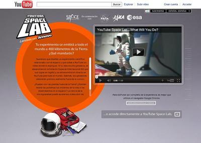 YouTube busca a los astronautas del futuro