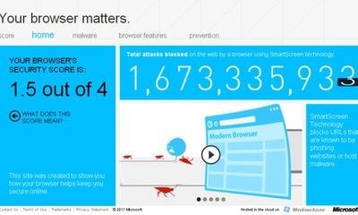 Microsoft denuncia la inseguridad de navegadores de la competencia