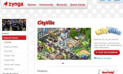 Zynga abrirá su propia plataforma de juegos sociales