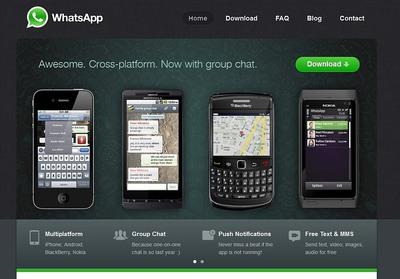 Caída del servicio de mensajería WhatsApp