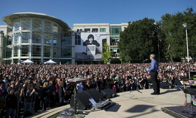 La página de homenaje a Steve Jobs de Apple recoge un millón de testimonios