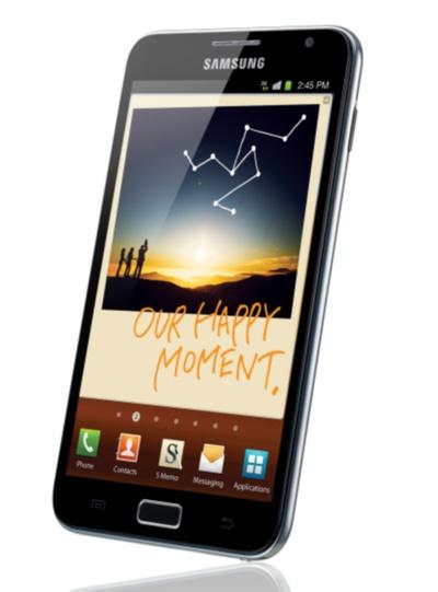 Galaxy Note, entre el teléfono y la tableta