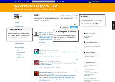 Diaspora ya está disponible