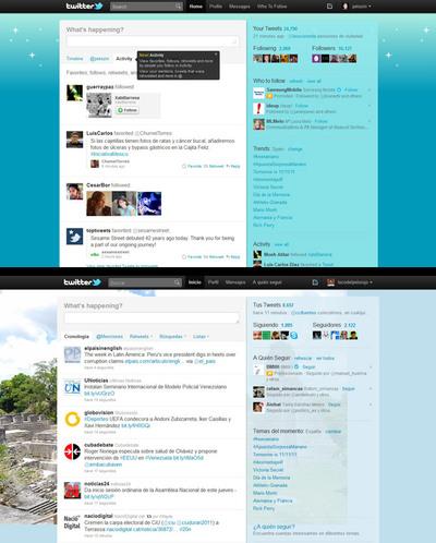 Twitter elimina las menciones y los retuits