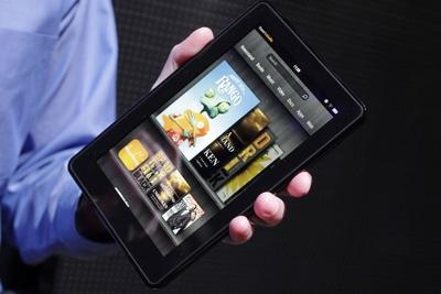 Amazon retocará su Kindle Fire