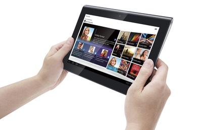 Sony se apunta a las tabletas