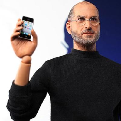 Una empresa china pretende vender un muñeco de Steve Jobs