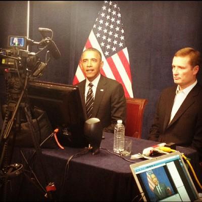 Obama se estrena en Instagram