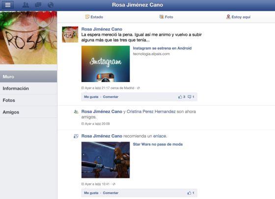 Facebook en alta definición