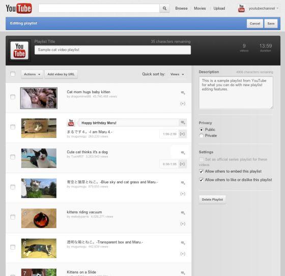 YouTube permite remezclas
