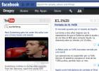 Un explorador de Facebook
