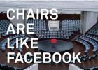 El homenaje a las sillas de Facebook