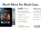 La tienda Amazon contra iPad Mini