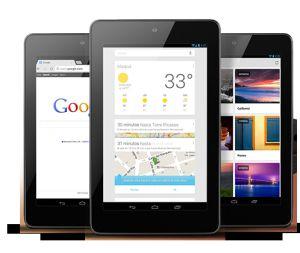 Un millón de Nexus 7 al mes